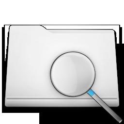 white folder search