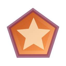 draw polygon star