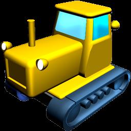catterpillar tractor batiment