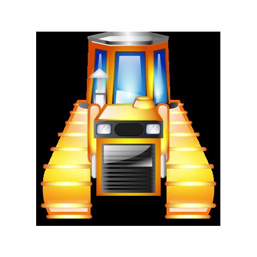 caterpillar tractor batiment