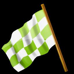 left chartreuse drapeau course