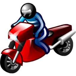 motorcyclist moto