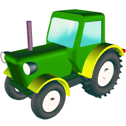 wheeled tractor tracteur