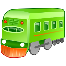 train 4 bus
