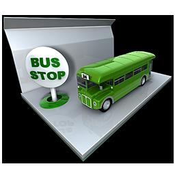 bus stop bus
