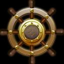 nautilus ship steering wheel icon bateau