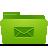 folder green mails