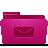 folder pink mails