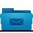 folder blue mails