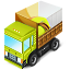 loaded truck camion