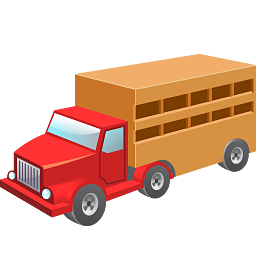cow wagon camion