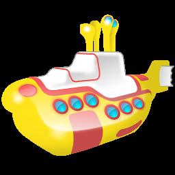 yellow submarine sous marin