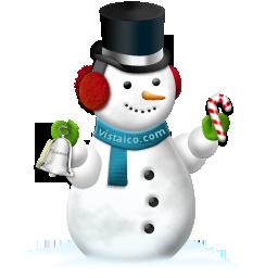 christmas snowmanbell