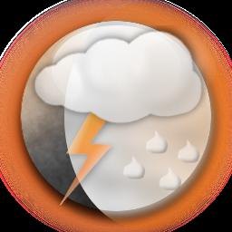 orange weather 100