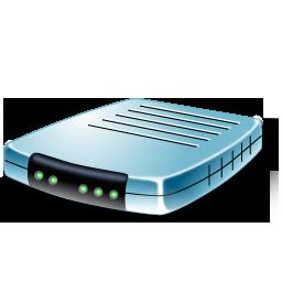 modem blue modem