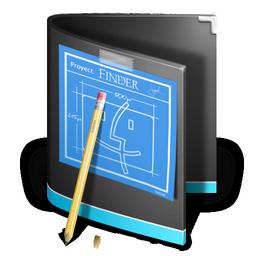 developer folder black devellopeur