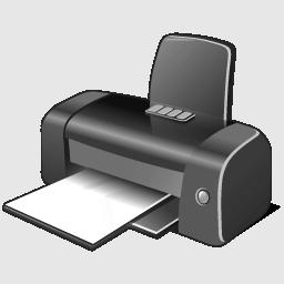 gray printer imprimante