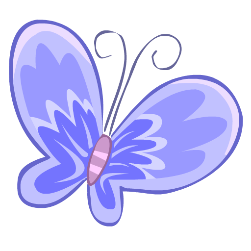 blue butterfly papillon