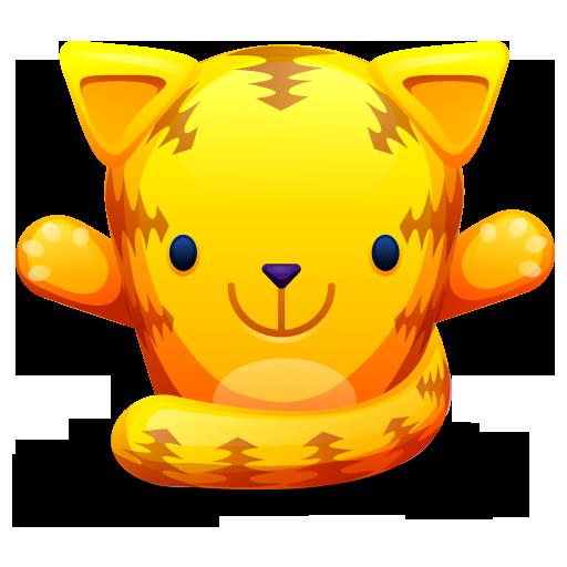 cat orange chat