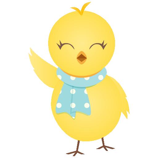 waving chicken poule