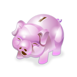 piggy bank 2 cochon