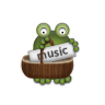 music2 grenouille