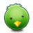 bird green oiseau
