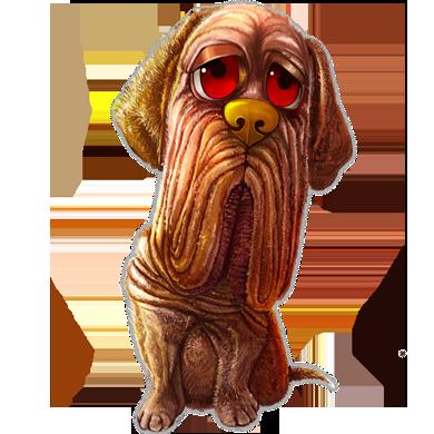 sharpei chien