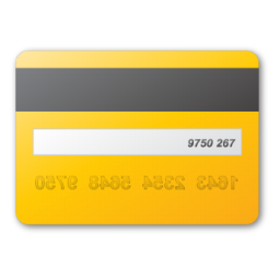 credit card yellow