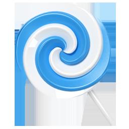 lollypop blue candy bonbon