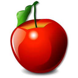 red apple pomme