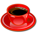 coffeecup red cafe