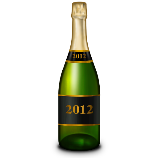 champagne bottle bouteille