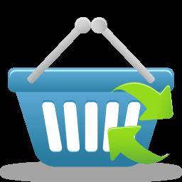 shopping basket refresh panier