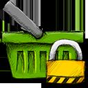 basket locked panier