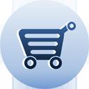shopping cart caddie