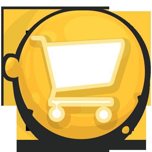shoping cart caddie