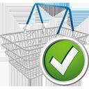 shopping cart accept caddie