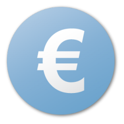 currency euro blue euro