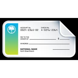 bank check cheque
