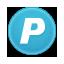 circle social icons paypal