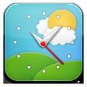 weather clock2 horloge