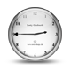 industrial clock horloge