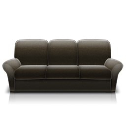 couch black fauteuil