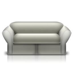 loveseat white fauteuil