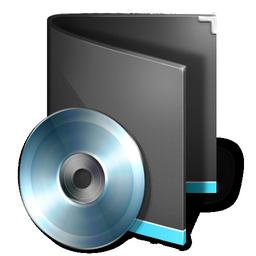 folder music black