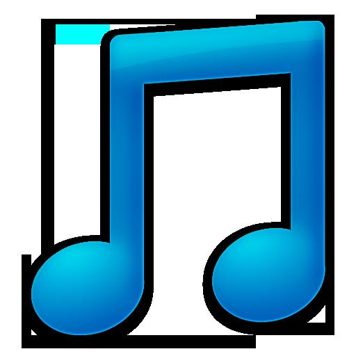 toolbar music blue