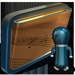 folder my shared music