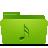 folder green music