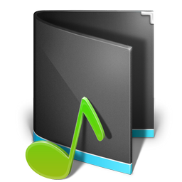 music folder alta black
